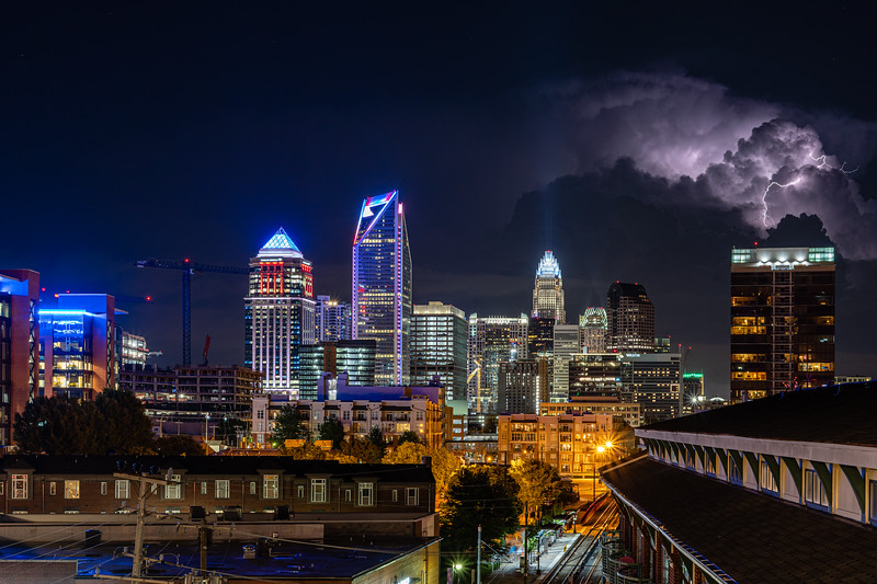 Stormy Weather in Charlotte