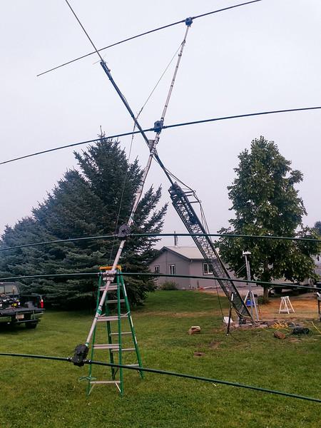 2016- Installing the 4 Elelment SteppIR Antenna - Stevensville, MT