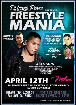 Freestyle Mania April 12th