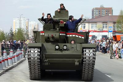 2021 Victory Day Parade in Verkhnyaya Pyshma