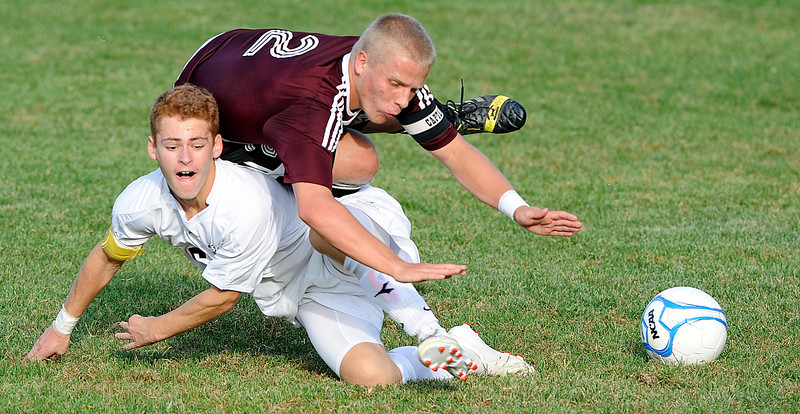 Monmouth at Saint Dominic Academy boys soccer