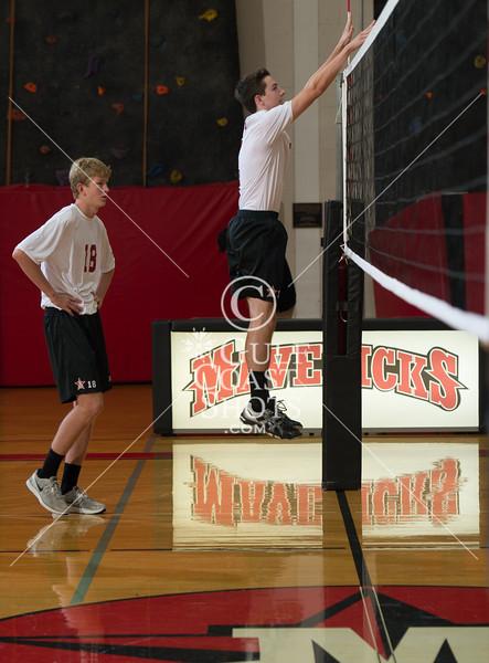 2012-08-26 Volleyball St. John's Varsity - Alumni game
