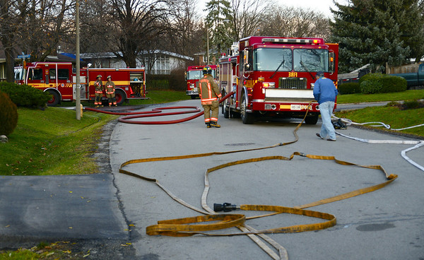 December 2, 2011 - Working Fire - 25 Bournemouth Rd.