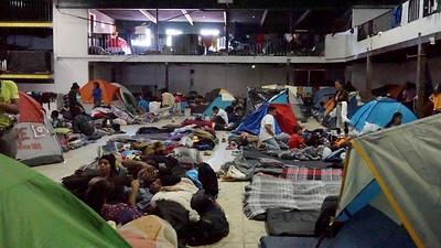 Tijuana, Mexico - Barretal Refugee Camp 360 Video
