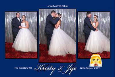 Kristy & Jye's Wedding - 12 August 2017
