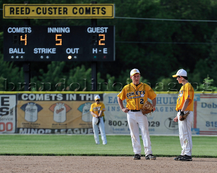 Reed-Custer Baseball v. Peotone (5-11-12)