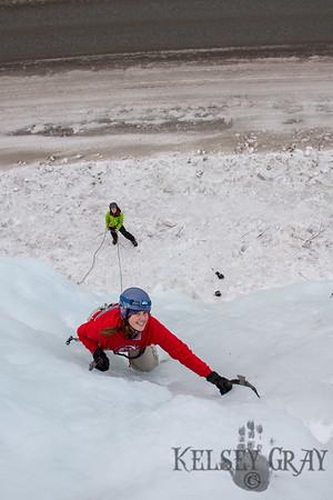 Ice Climbing w/ Tara 01/01/14