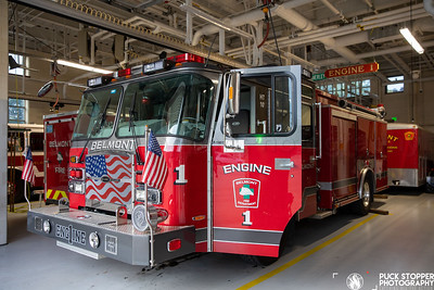 Apparatus Shoot - Engine 1, Belmont, MA - 9/24/20