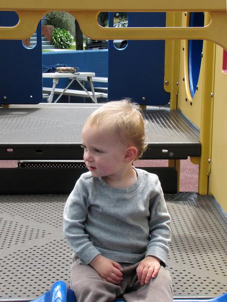 12-Karl at slide
