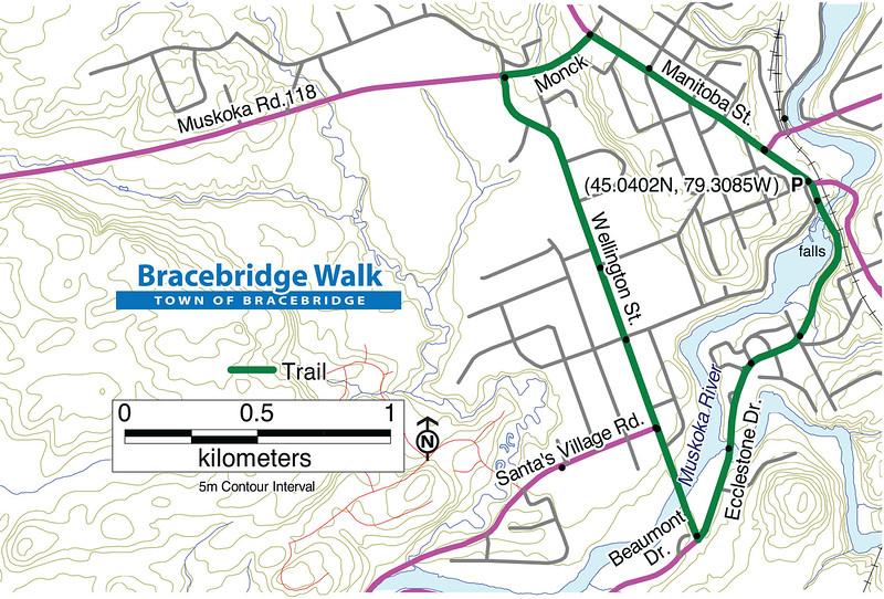 Bracebridge Falls Trail