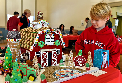 13th annual gingerbread house competition - December 7, 2019