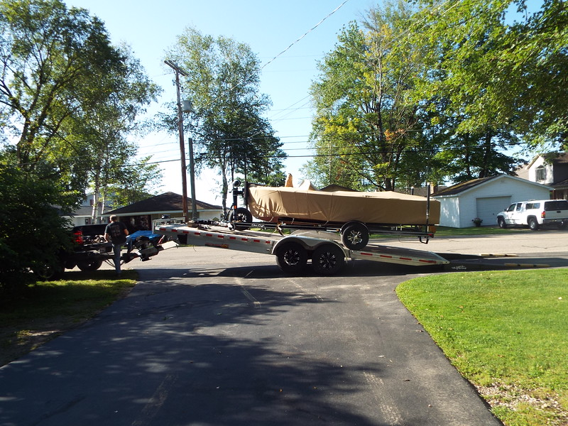 Bailey Blue being loaded and ready to make the trip to it's new home in Washington State. Completed on 08/19/2019.