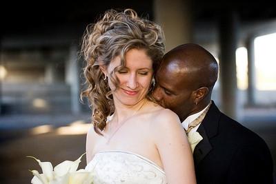 Wedding album: Sarah and Marx at Mile High Station