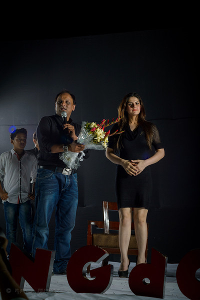 Banana Kingdom - Location Event - Zarine Khan