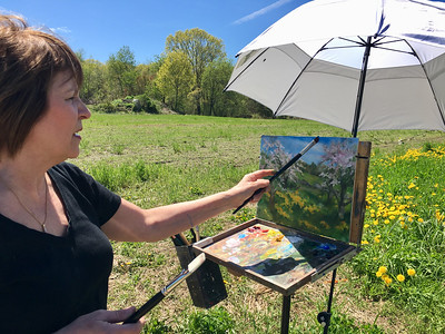 Orchard art in Billerica - May 11, 2019