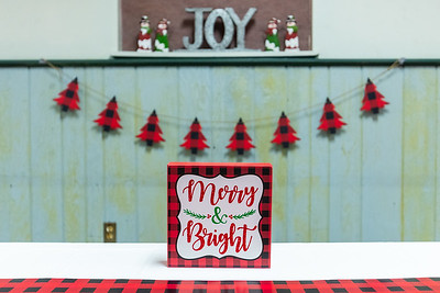 OH157- 2018 Christmas Banquet Set-Up