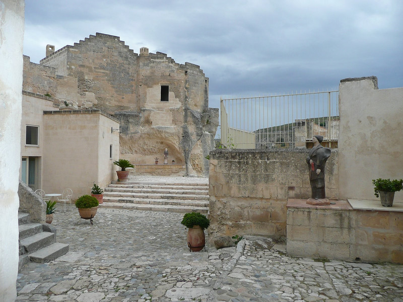 Courtyard of Hotel Sant Angelo