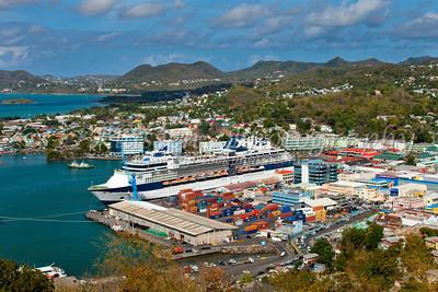 Saint Lucia, Castries