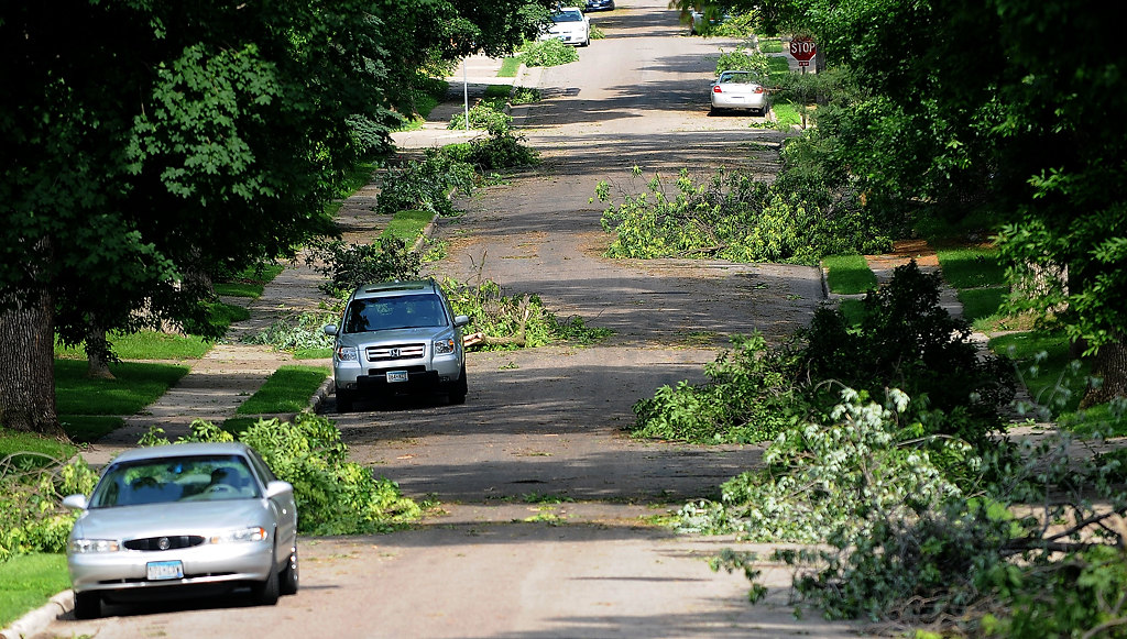 . Beechwood Avenue  in the Highland Park neighborhood. (Pioneer Press: Sherri LaRose-Chiglo)