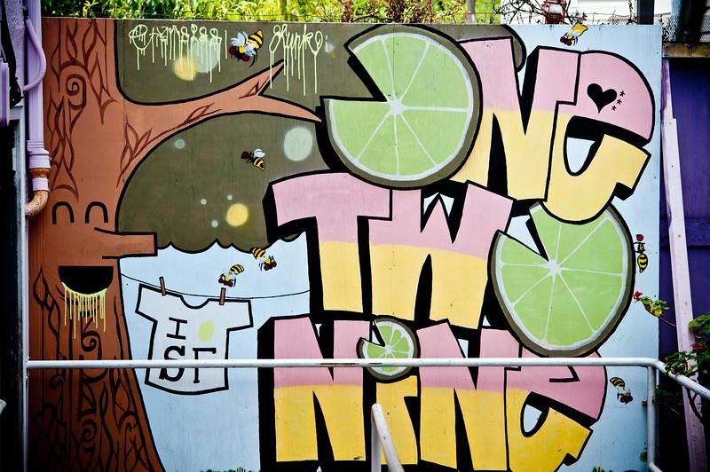 Inner Sunset Graffiti Art