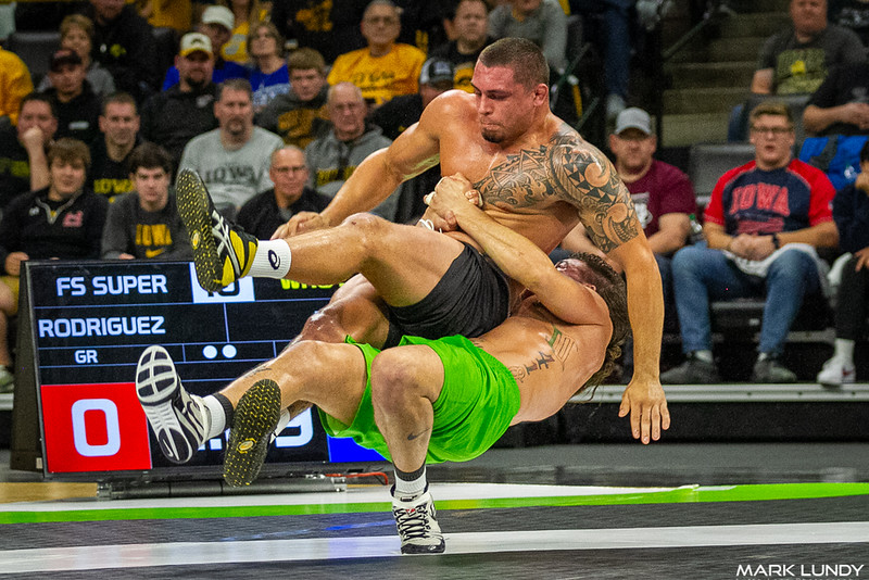Pat Downey Iowa City, IA (Wrestling) VSU Nick Rodriguez (Grappling), 12-0 3:53 - 2019 Who's #1
