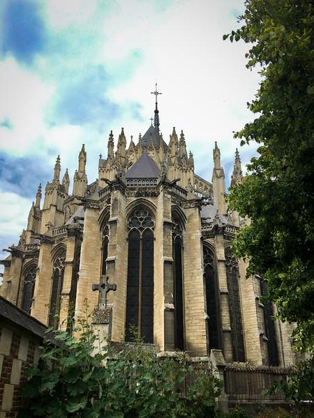 Basilique Cathédrale Notre-Dame d'Amiens, June 24th