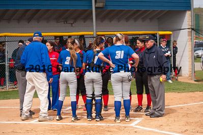 Hempfield Softball VS McKeesport 4-18-2014