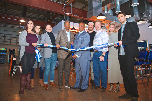 January 09, 2020 - North Avenue Market Ribbon Cutting for Secret Sauce