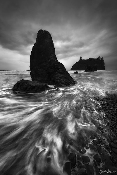 Ruby Beach Storm