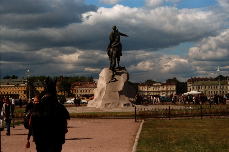 The Bronze Horseman - St. Petersburg, Russia