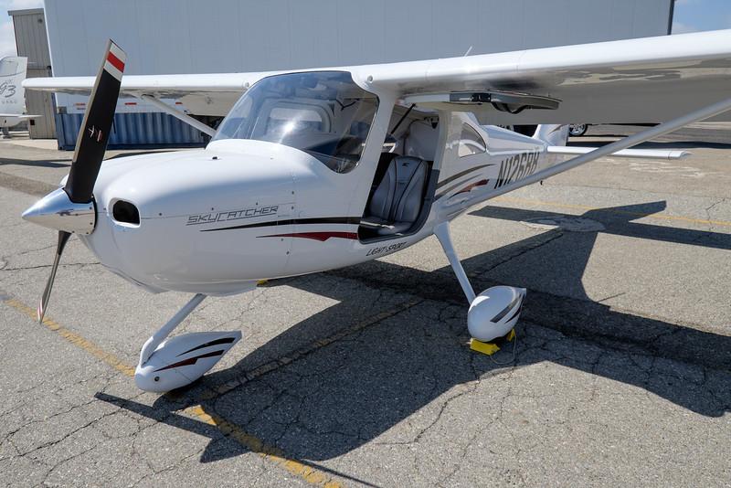 Cessna Skycatcher C162 AOPA Regional Fly-in Chino, CA - 21SEP2014