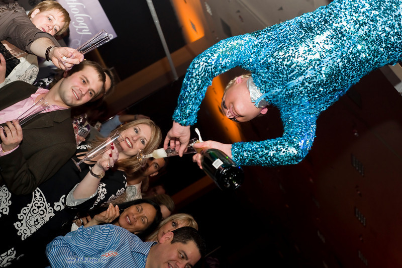 Photograph at Anthology Party in Las Vegas for Catersource 2010 and Event Solutions was held in Bally's Casino. Anthology Event is an inspiring collection of culinary creativity and event ingenuity inspiring the imagination. Anthology Event produced by Cade Nagy, Chiaromonte, Donna Ford, Byway Events & Entertainment, Royce's Prop Shop and Creative Backstage. Photograph by Las Vegas photographer Mark Bowers.  Copyright 2010 Mark Bowers All Rights Reserved