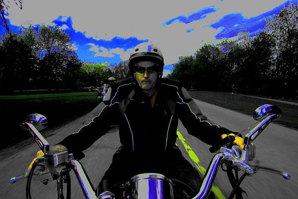 On Bike Action
