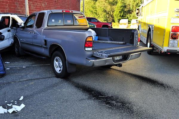 9/20/2010 Five Vehicle Parking Lot Pile-up