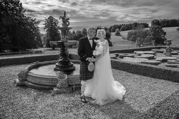 Gail and Peter Wedding at Hassop Hall