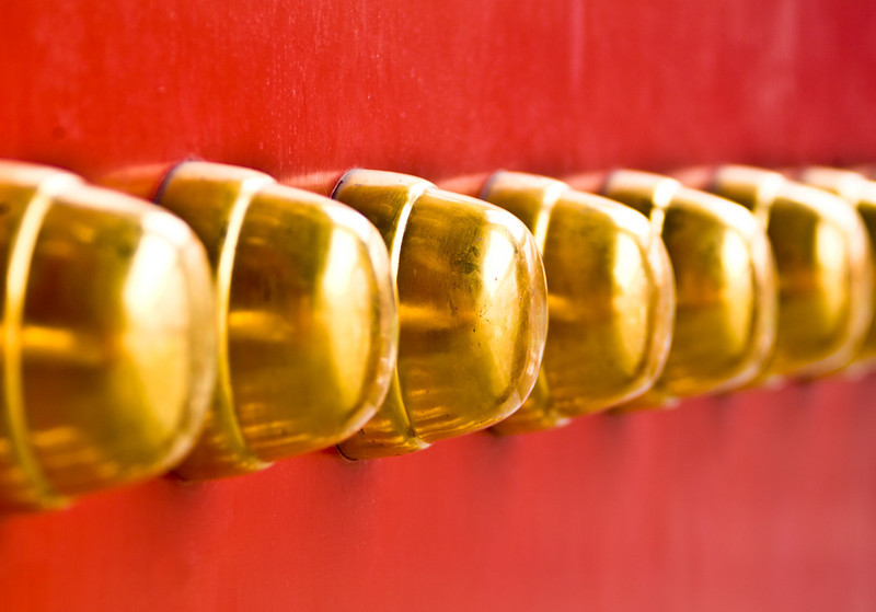 Forbidden City Door Bosses