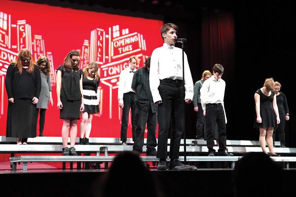 "Sheridan High School presents ""Just Broadway"""