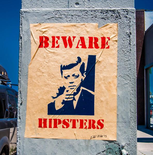 Beware, hipsters