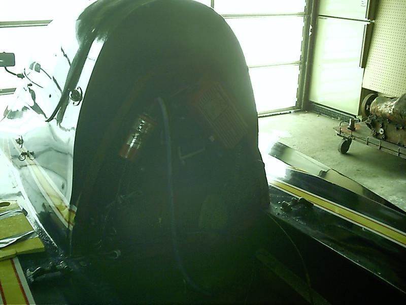 Back of cockpit.