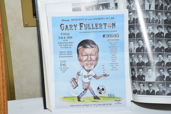 GARY FULLERTON RETIREMENT DINNER, Friday 8, 2019 Airtel Plaza Hotel.