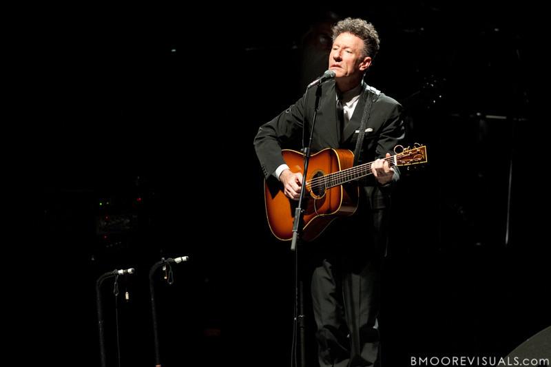 Lyle Lovett performs on November 21, 2010 at Mahaffey Theater in St. Petersburg, Florida