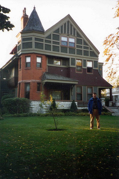 Russ at Evanston house Asbury Street #1823.jpg