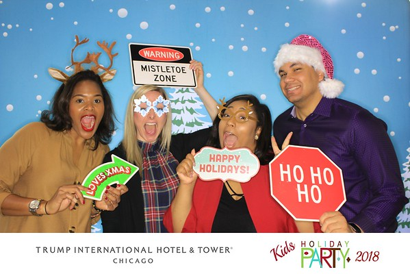 """Trump International Hotel & Tower Chicago """"Kids Holiday Party 2018"""""""