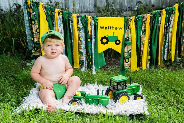 Matthew is 1!