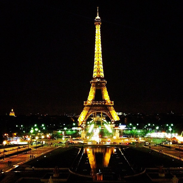Anyone for the Eiffel Tower at night? From the Trocadero #Paris #lovingthemoment