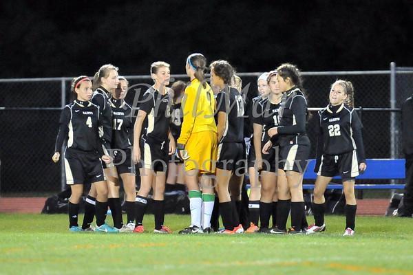 Conrad Weiser vs Berks Catholic Girls High School Soccer 2012 - 2013