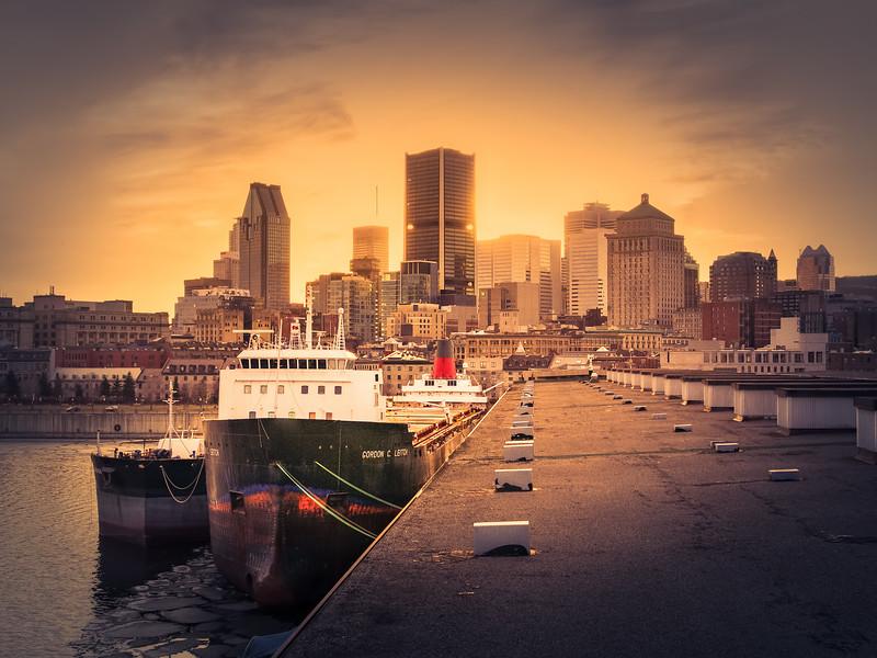 Travel Photography Blog - Canada. Montreal. Alexandra Quay