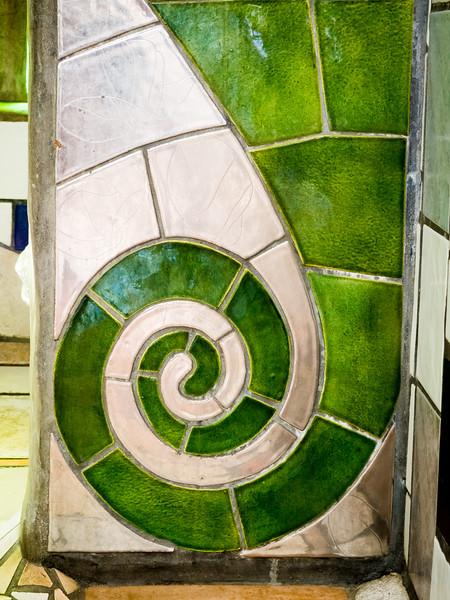 Hundertwasser Toilets and Kawakawa Mural