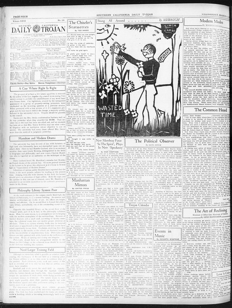 Daily Trojan, Vol. 23, No. 104, March 09, 1932