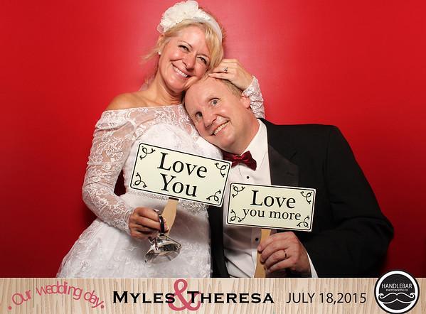 Myles and Theresa Stanley's Wedding